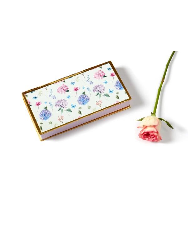 Hydrangea Design Personalized Cash/Gaddi Box