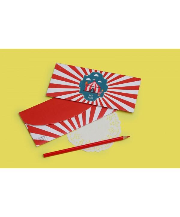 Circus Theme Money/Shagun Envelopes