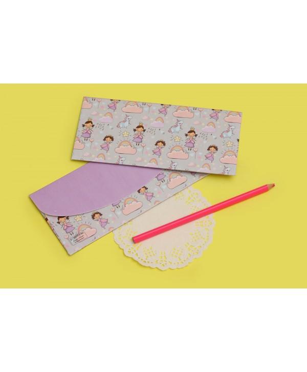 Fairy And Unicorn Design Money/Shagun Envelopes