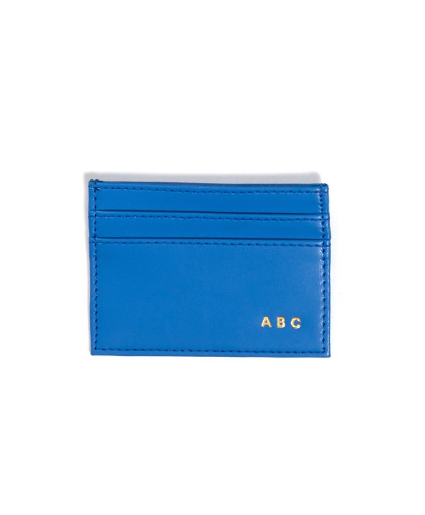 Card Holder- Blue- Personalized