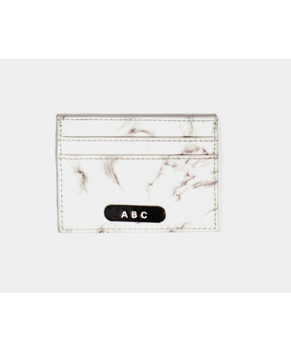 Marble Design Card Holder- Personalized