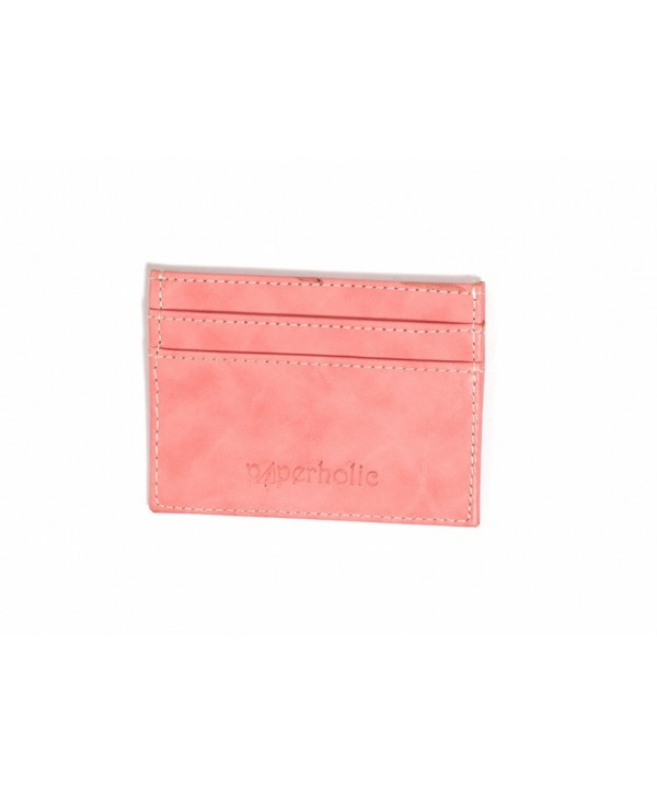 Card Holder- Pink Texture- Personalized