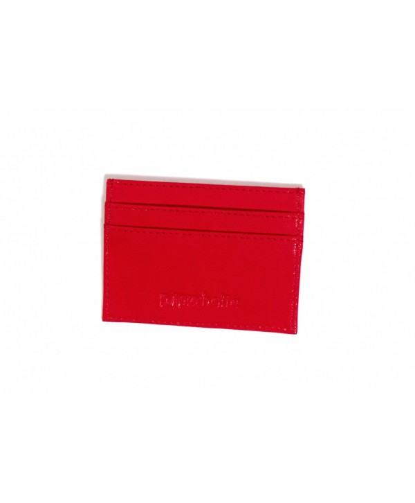Card Holder-Red- Personalized