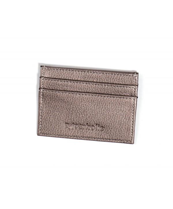 Card Holder- Metallic Silver