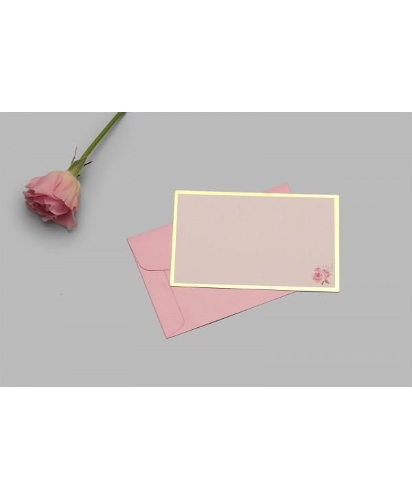 FLOWER THEME NOTECARDS