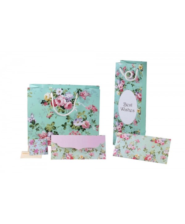 SEA GREEN FLORAL GIFT COMBO