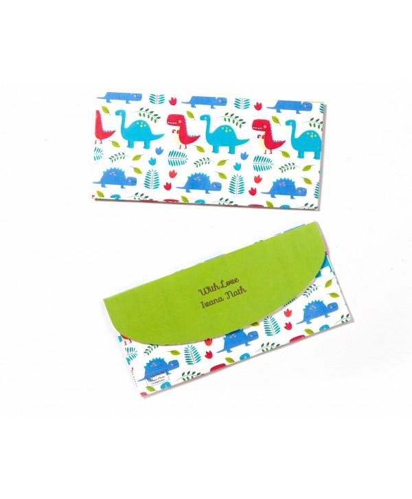 Dinosaur Theme Money/Shagun Envelopes