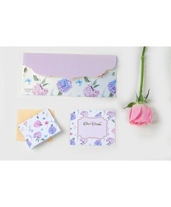 Hydrangea Design Envelopes & Tags