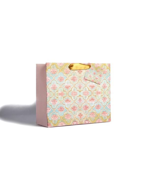 Mughal Design Gift Bags- Set Of 2