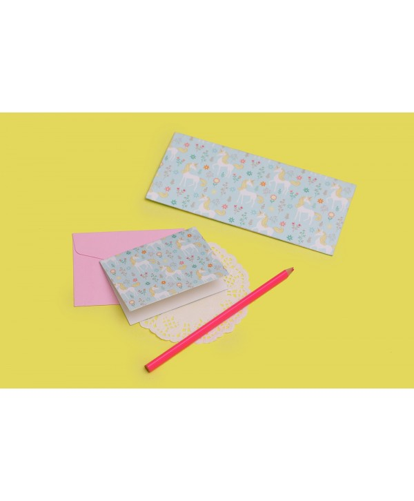 Unicorn Design Envelopes And Tags