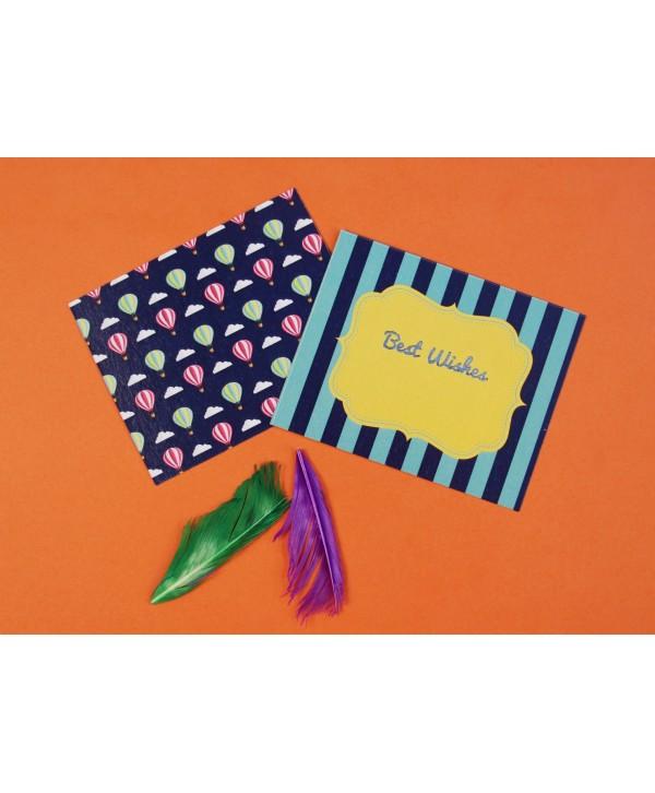 Hot Air Balloon Design Gift Tags