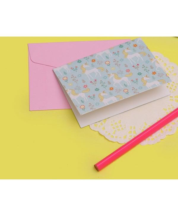 Unicorn Design Gift Tags Folded- Personalized