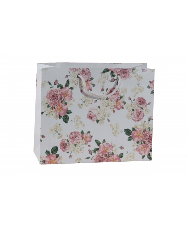 White Floral Gift Bags