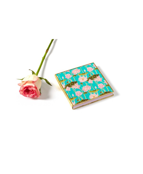 Blue Lotus Design Gold Coin/Ginni Box