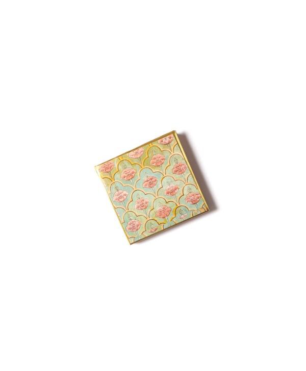 Mughal Design Personalized Gold Coin/Ginni Box