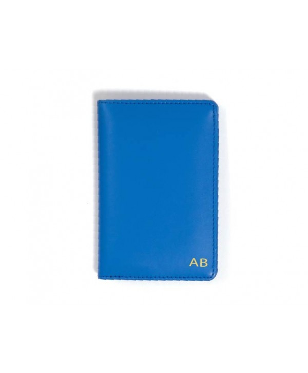 Passport Cover (Plain)- Blue- Personalized