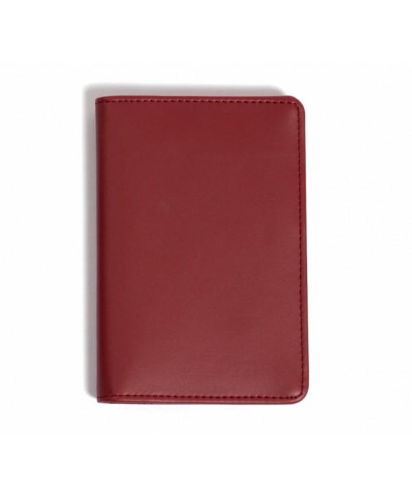 Passport Cover (Plain)- Burgandy