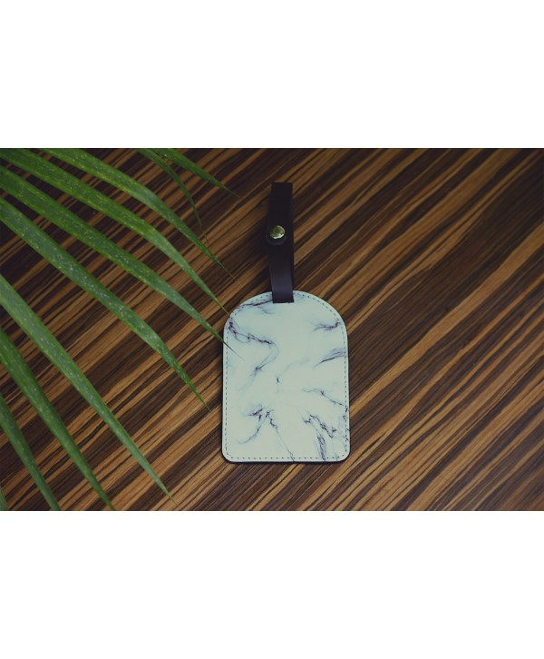 Marble Design Luggage Tags- Personalized