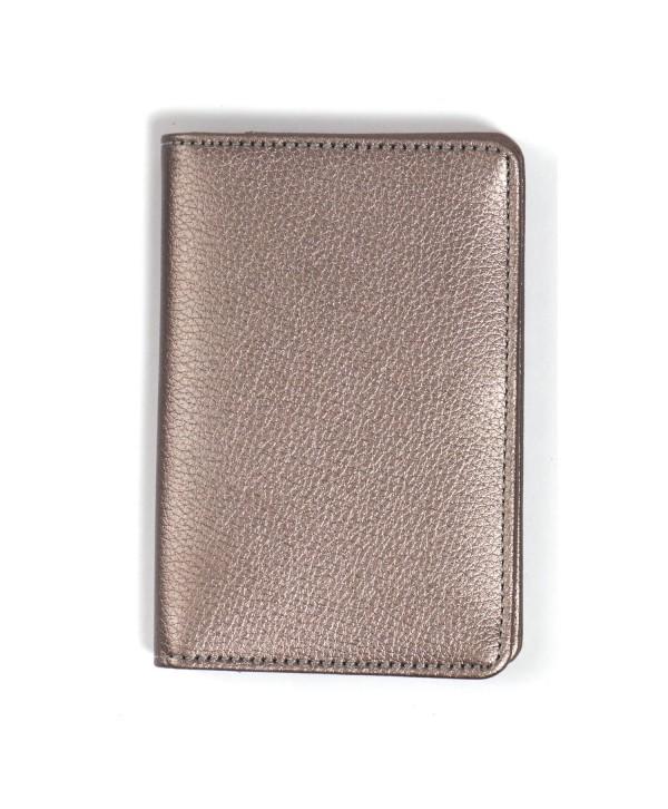 Passport Cover (Plain)- Metallic Silver