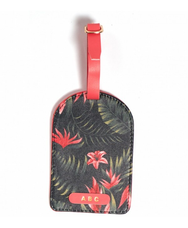 Tropical Design Luggage Tag- Personalized
