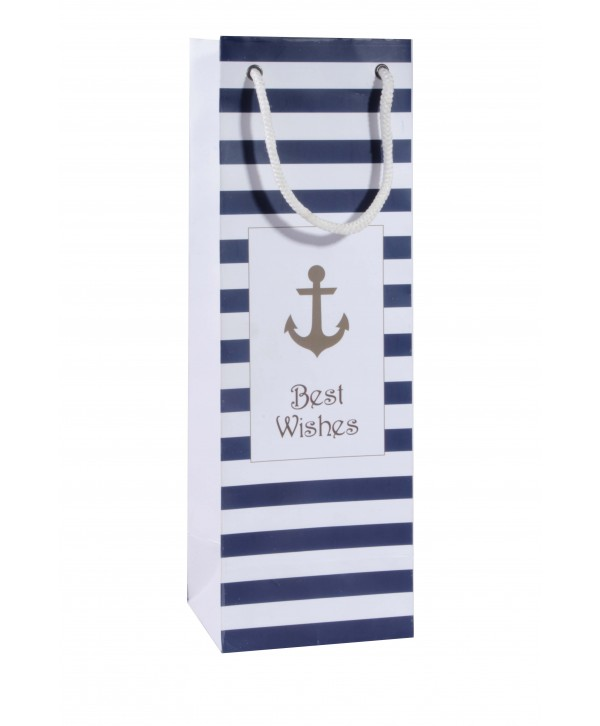 Anchor Design Wine Bags