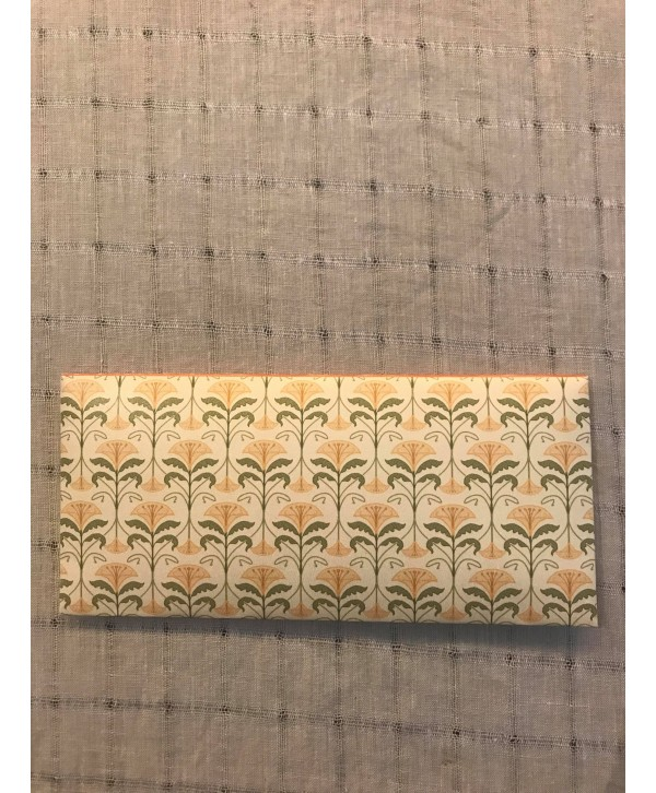 GARDEN FLORAL DESIGN MONEY ENVELOPES