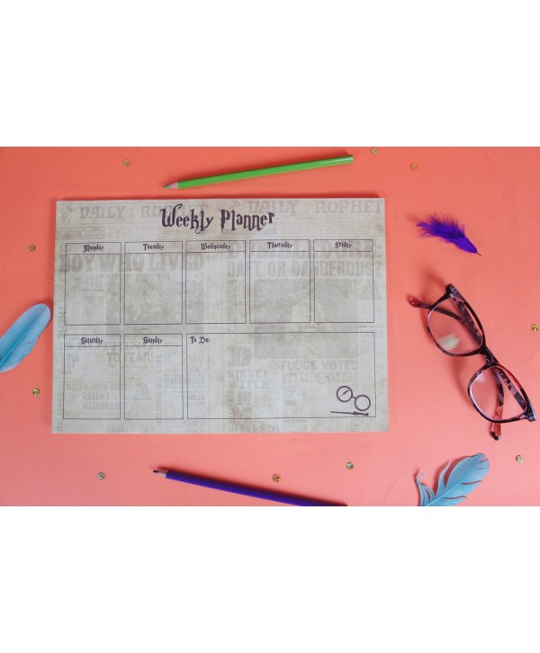 HARRY POTTER THEME WEEKLY PLANNER