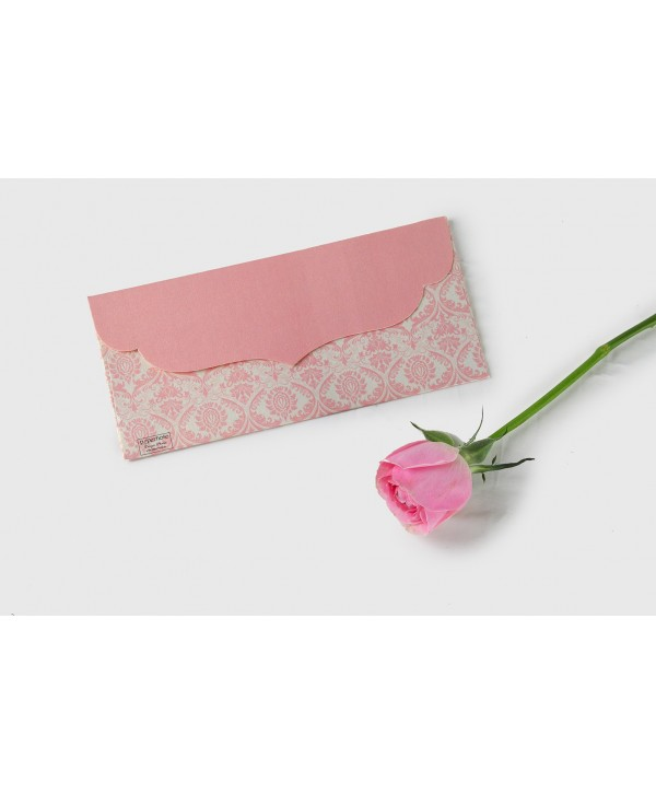 PINK DAMASK MONEY/SHAGUN ENVELOPES