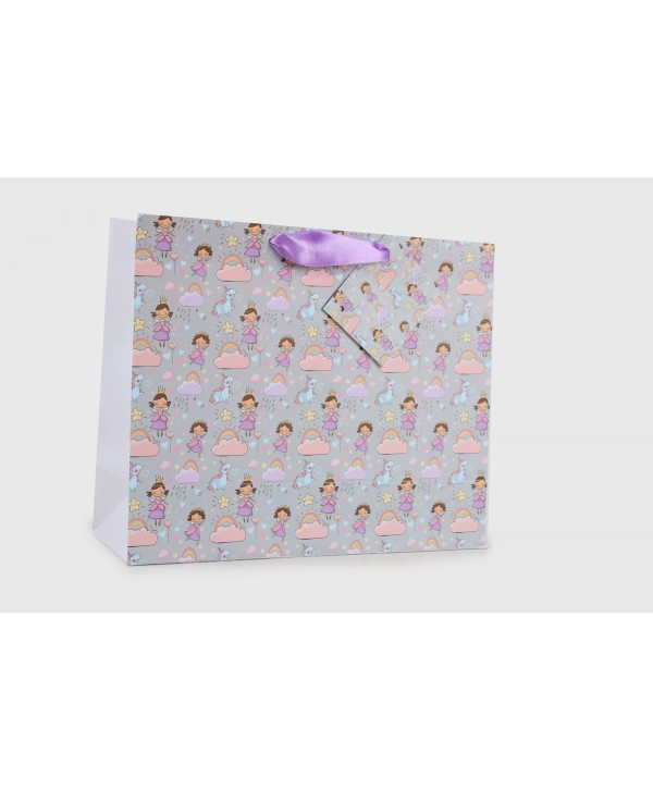 FAIRY AND UNICORNS DESIGN GIFT BAGS- SET OF 2