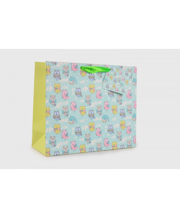 ITS OWL GOOD! GIFT BAGS- SET OF 2
